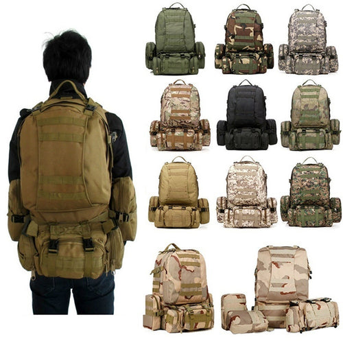 Camping Outdoor Military Backpack