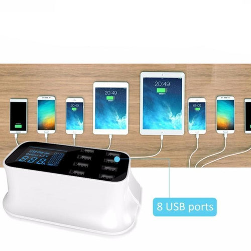 8-Port USB Charger