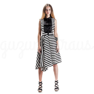 #Zebra Dress by GUZUNDSTRAUS