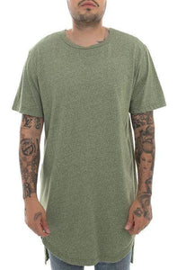 Packs Short Sleeve Hi-Lo Tall Tee (Olive)