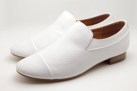 Slip On Shoes (White)