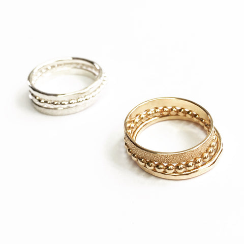 Gwynnie Bee exclusive 3 ring stack