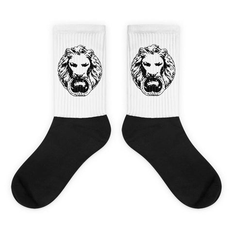 Black NFA Lion Top Foot Socks