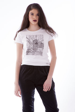 Women's Fashion T-Shirt - Snow Bird