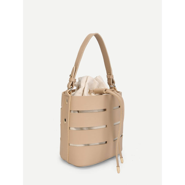 Bucket Bag With Inner Pouch - LB Boutique