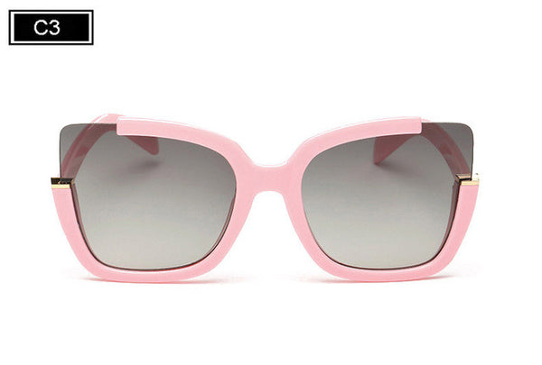 ROYAL GIRL Fashion Vintage Cat Eyes Sunglasses