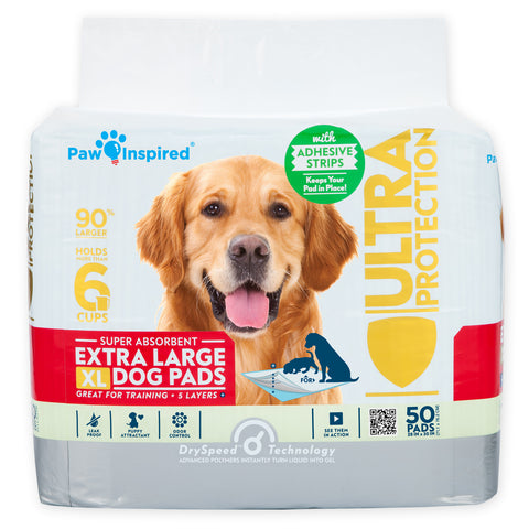 50ct Paw Inspired Ultra Protection XL Puppy Training Pads