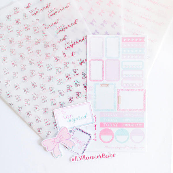 The ILS Planner Babe Set