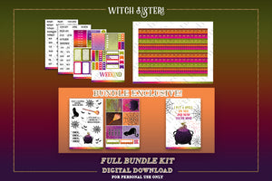 Witch Sisters | DIGITAL BUNDLE