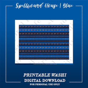 "BLUE | Spellbound House ""Faux Washi"" Strips"