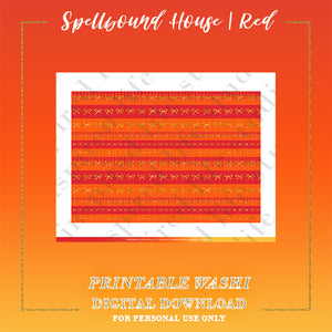 "RED | Spellbound House ""Faux Washi"" Strips"