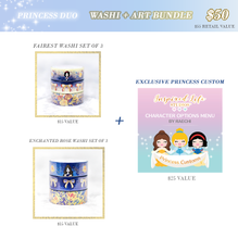 Load image into Gallery viewer, Princess Washi + Custom Bundle {LIMIT 1 PER PERSON/HOUSEHOLD}