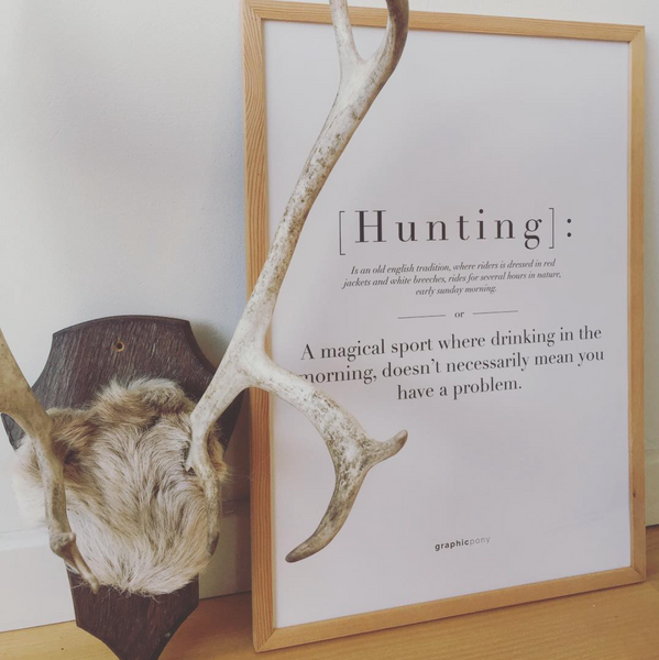 Hunting | citat - Graphicpony