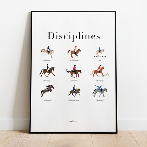 Disciplines | collection - Graphicpony