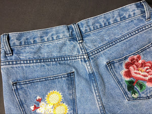 CL2 Flower Embroidered Jeans