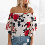 Claudette - Backless Off Shoulder Blouse