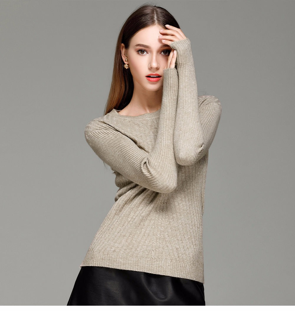 Eryn – Cashmere Blended Sweater (31 Reviews)