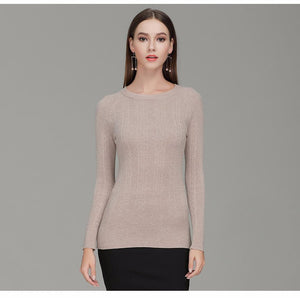 Bryleigh - Boat Neck Skinny Sweater