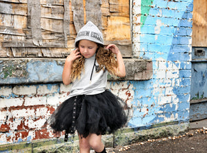 The Hood Rat Tank for little dudes and edgy babes, layer up for winter!!