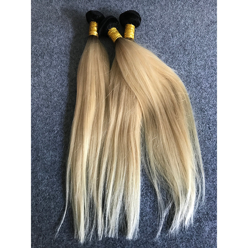 High Quality Virgin Russian Remy Blonde Human Hair Extensions
