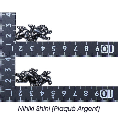 Nihiki Shihi (Plaqué Argent) [M-062-1AY2]