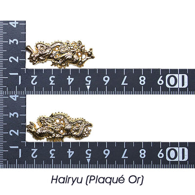 Hairyu (Plaqué Or) [M-065-1AY1]