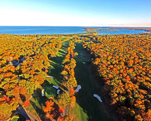 "Best Gardiner's Bay Country Club ""Fall Fairways"" Print"