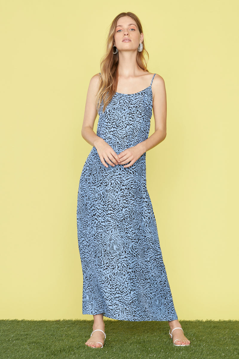 Blue Tiger Alexis Loose Slip Dress