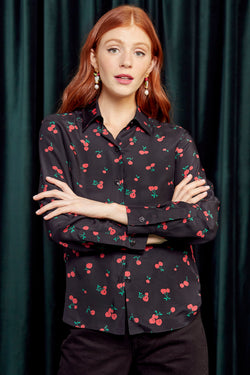 Black Cherry Cristina Blouse