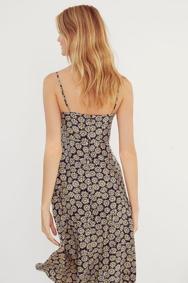 Black Daisy Nora Dress