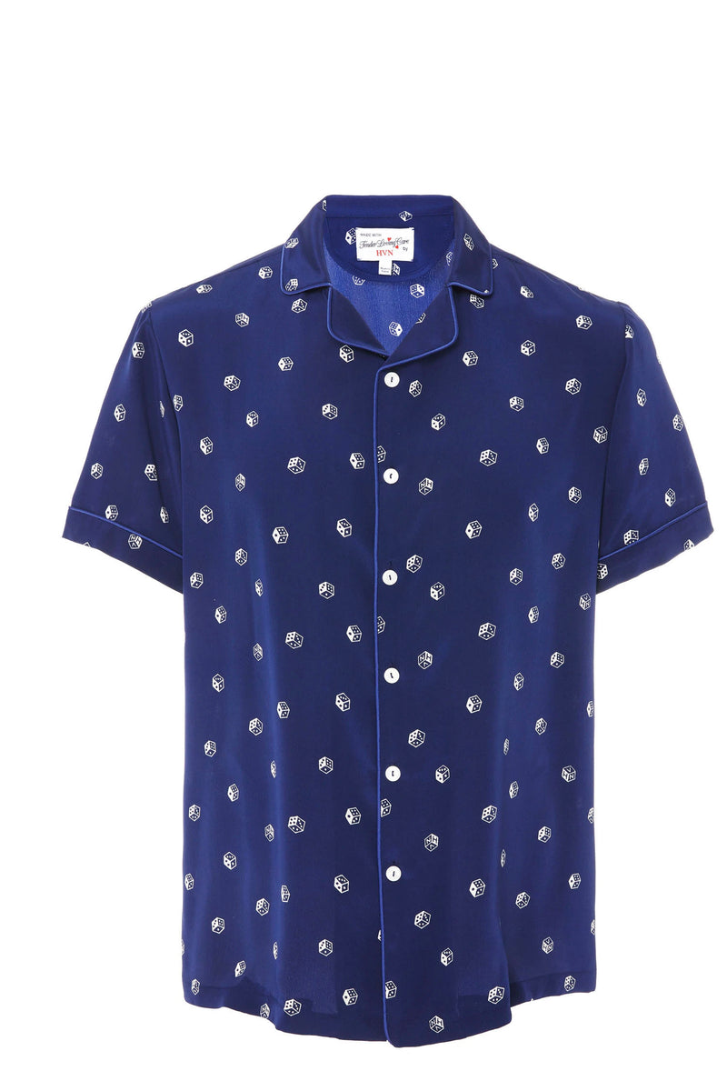 Navy Dice Ross Shirt