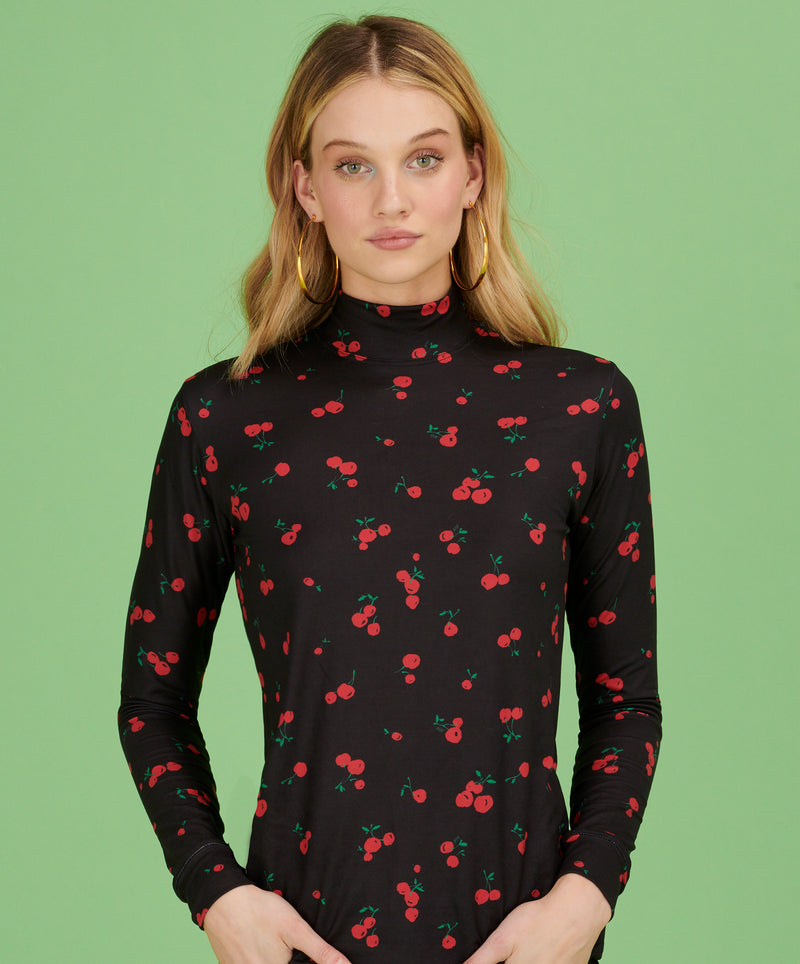 Black Cherry Dobbs Turtleneck