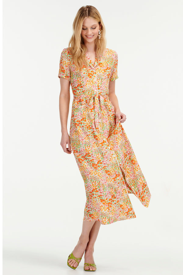Blooming Garden Long Maria Dress