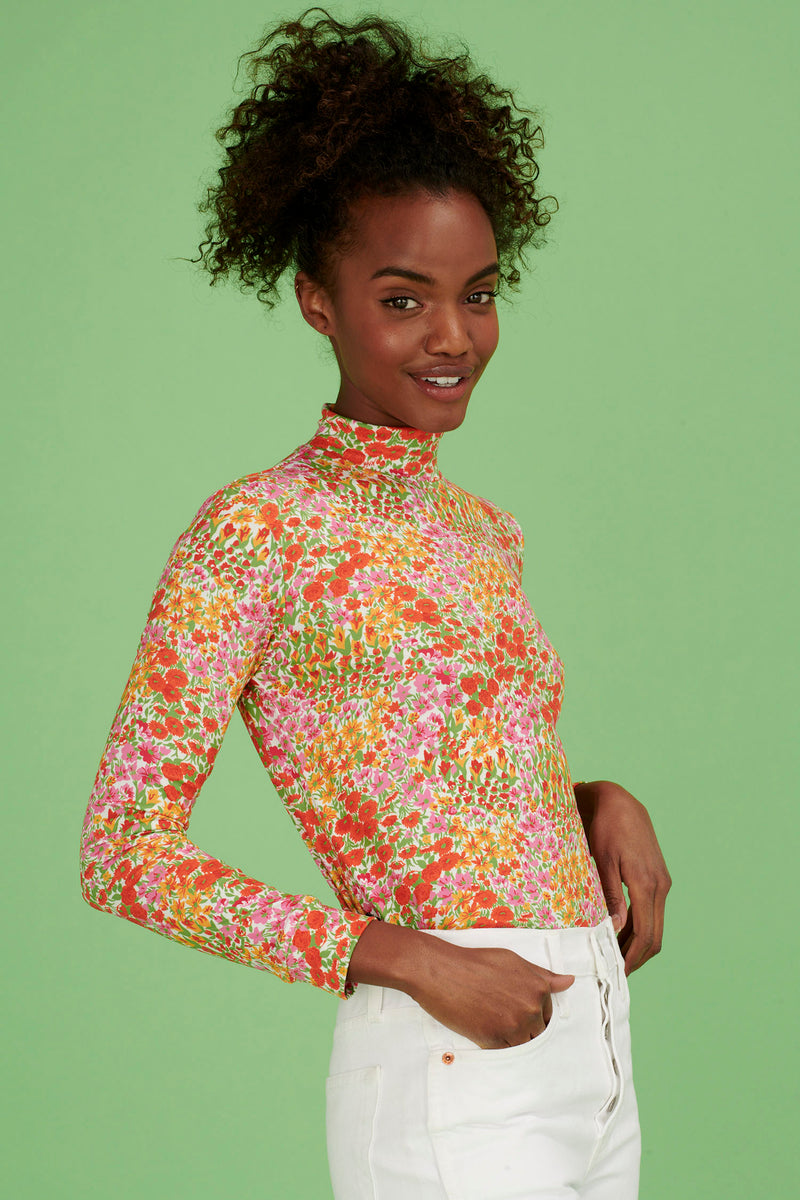 Blooming Garden Dobbs Turtleneck
