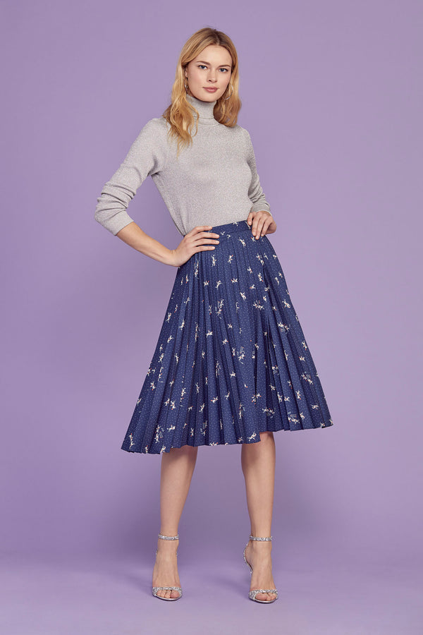 Cowboy Tracy Pleated Skirt