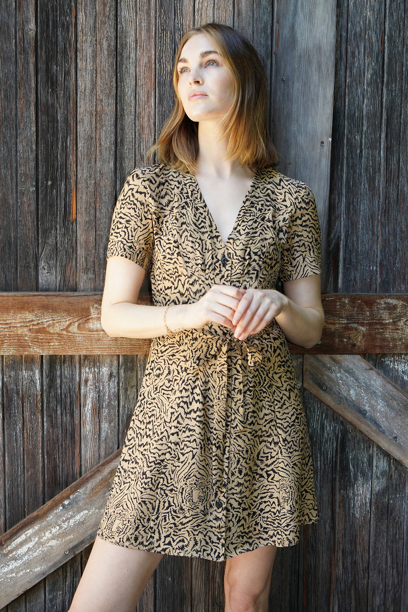 Tiger Mini Rosemary Dress