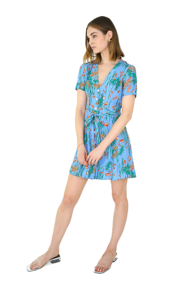Under The Sea Mini Rosemary Dress