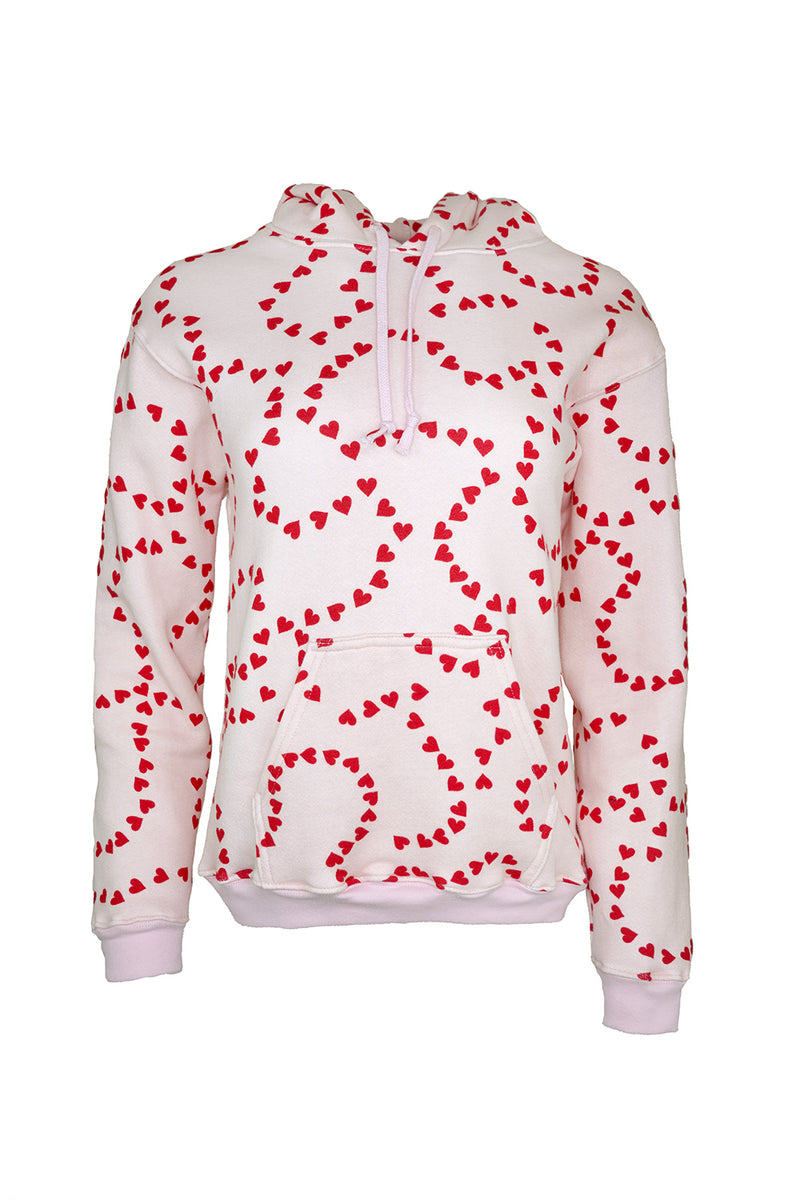 String of Hearts Hooded Sweatshirt