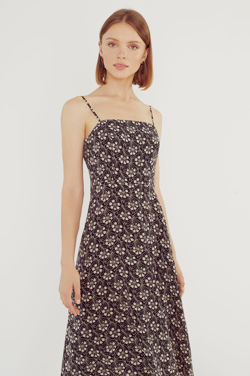 Garden Noir Nora Dress