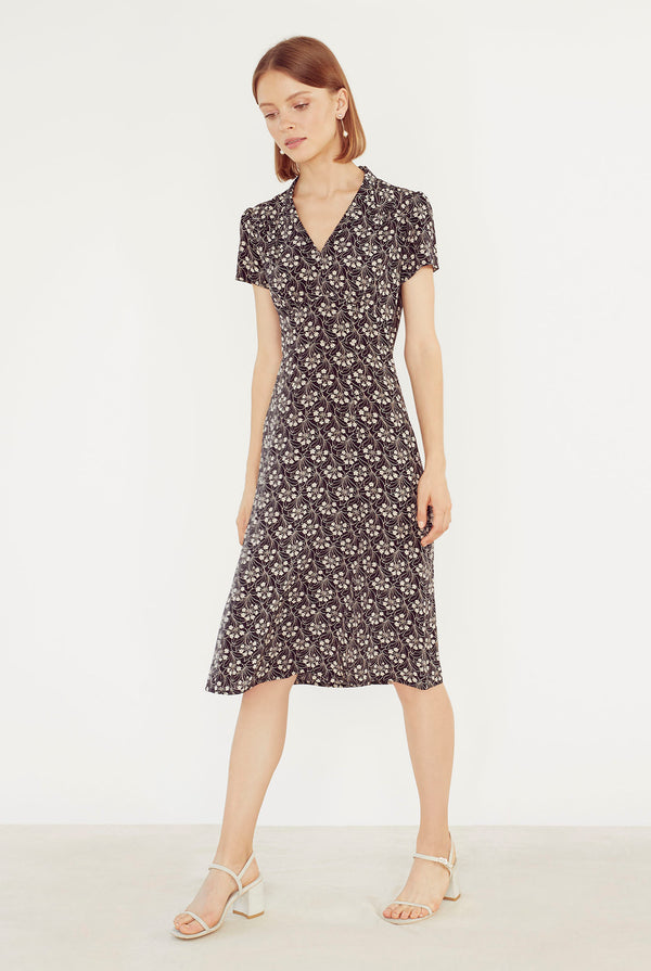 Garden Noir Morgan Dress