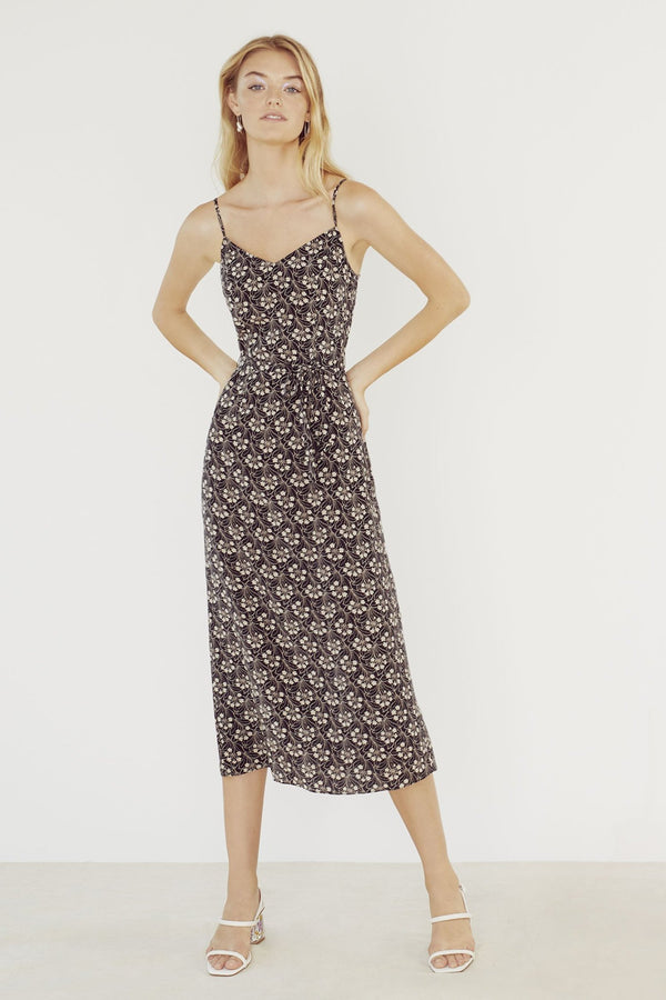 Garden Noir Josephine Long Slip Dress