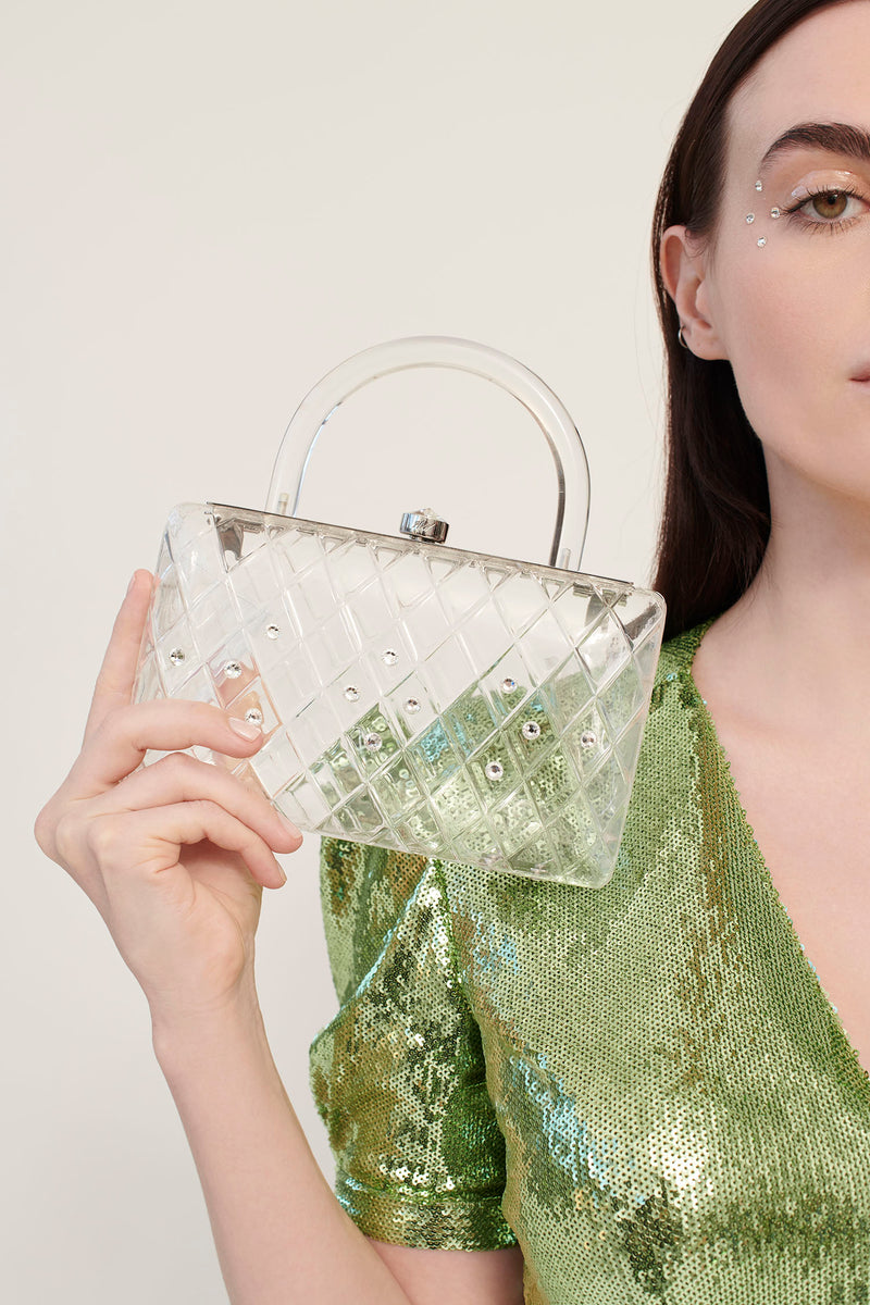 Clear Rio Resin Clutch