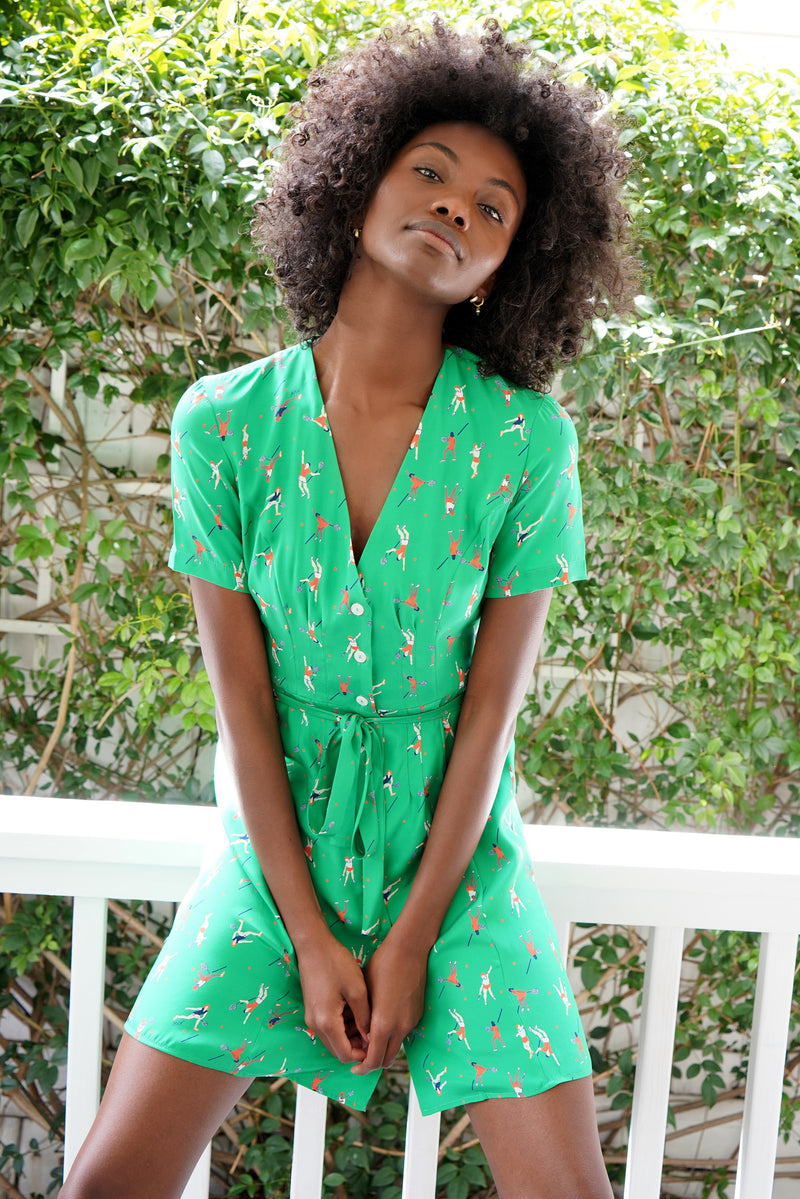 Tennis Mini Rosemary Dress