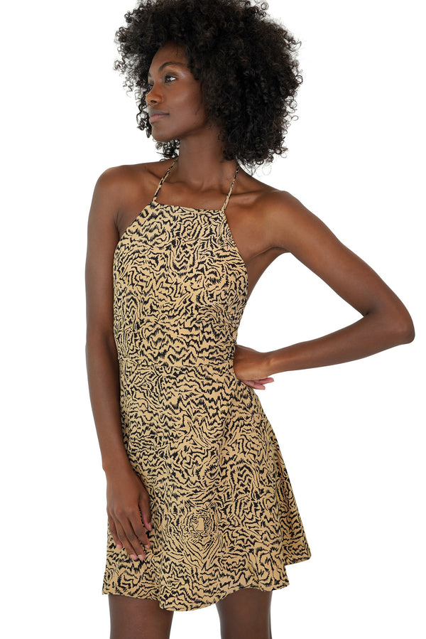 Tiger Mini Reece Halter Back Dress