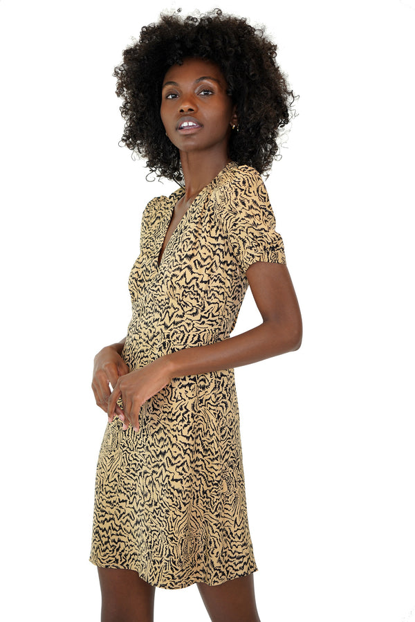 Tiger Mini Paula Deep V Neck Dress