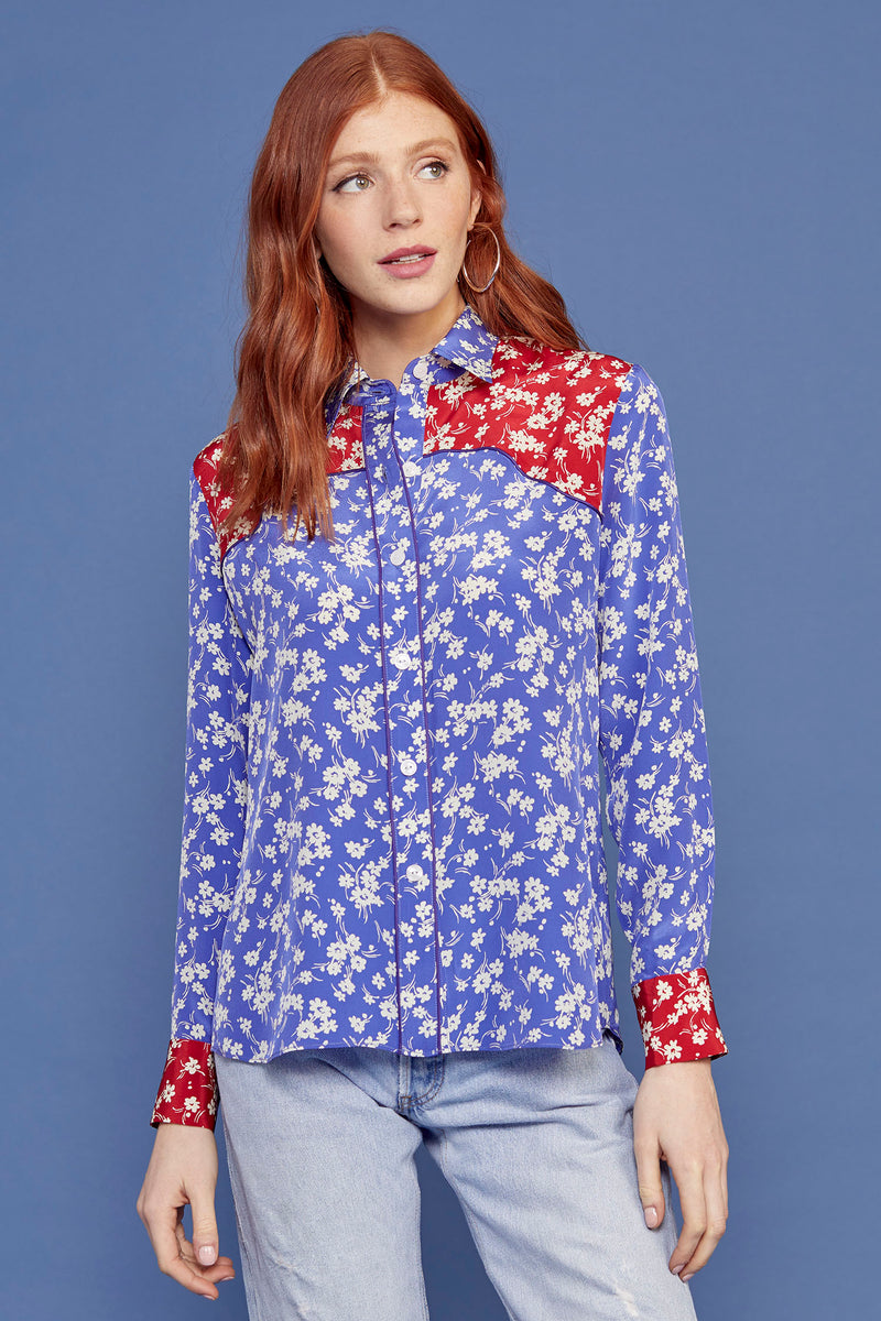 Combo Wildflower Kate Western Shirt