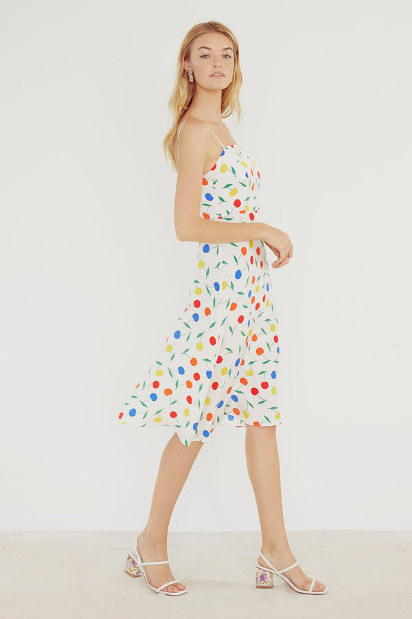 Rainbow Cherry Nora Dress