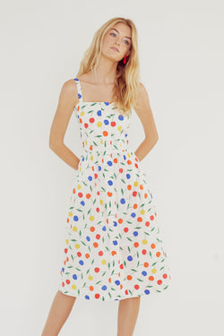 Rainbow Cherry Laura Dress