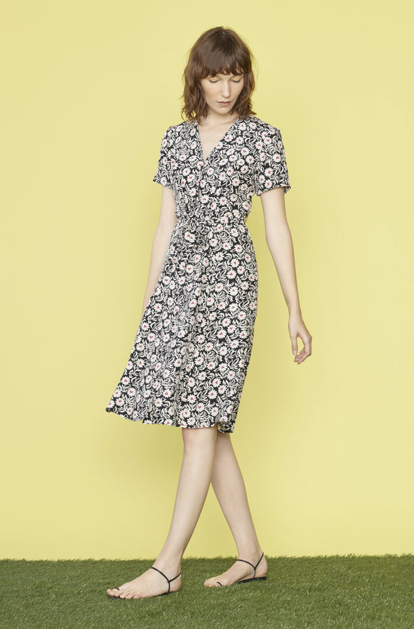 Red Heart Sunflower Rosemary Dress