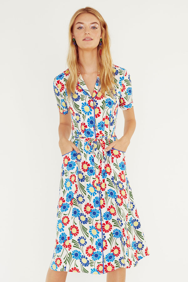 Sunflower Maria Dress